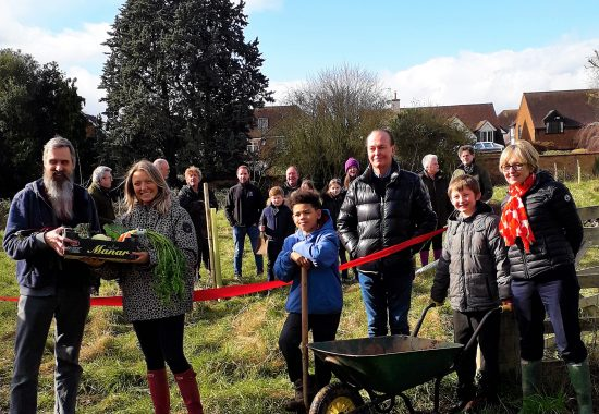 Opening of Rowley Community Orchard